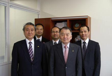 釜石市長が当財団を訪問されました